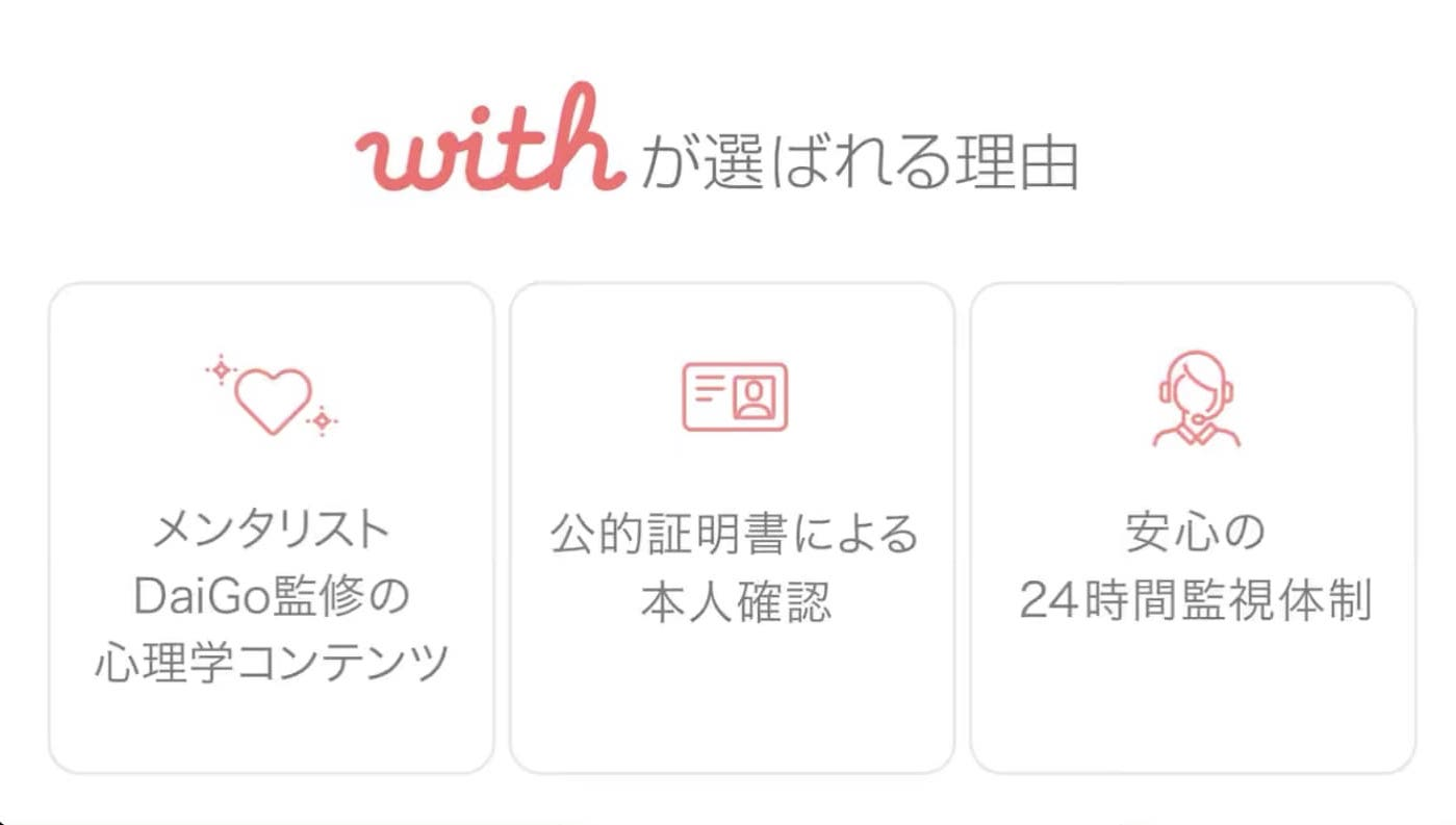 with公式サイトのTOPの画像