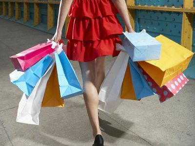 ショッピング女性